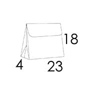 23 x 4 x 18 cm