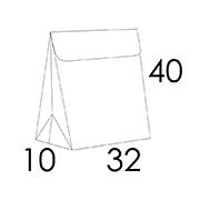 32 x 10 x 40 cm