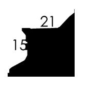 21x15x2 cm (A5+)