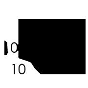10 x 33 x 10 cm