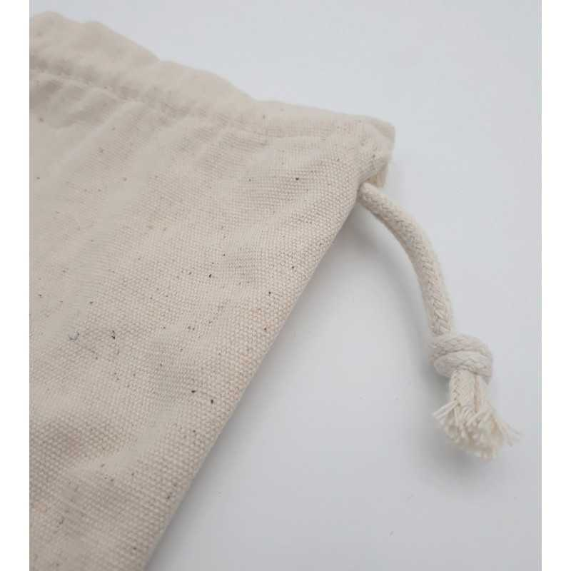 customizable cotton gift pouch