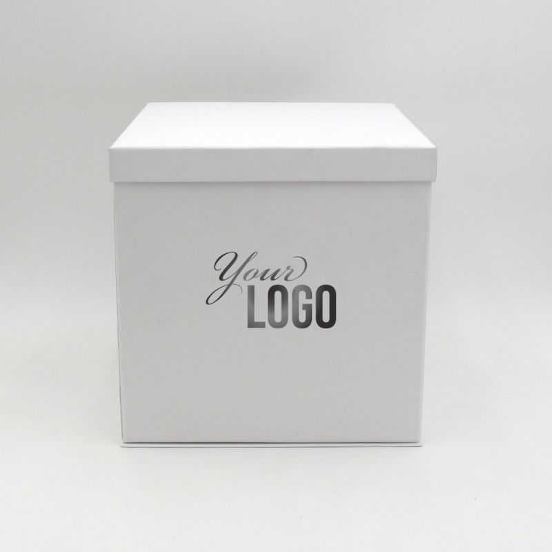 Flowerbox customizable giftbox with a lid
