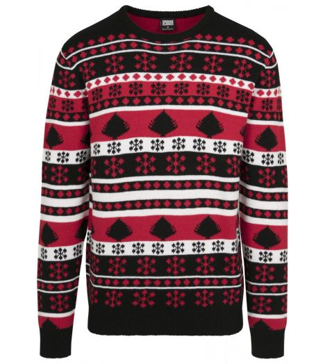 Christmas sweater with typical pattern