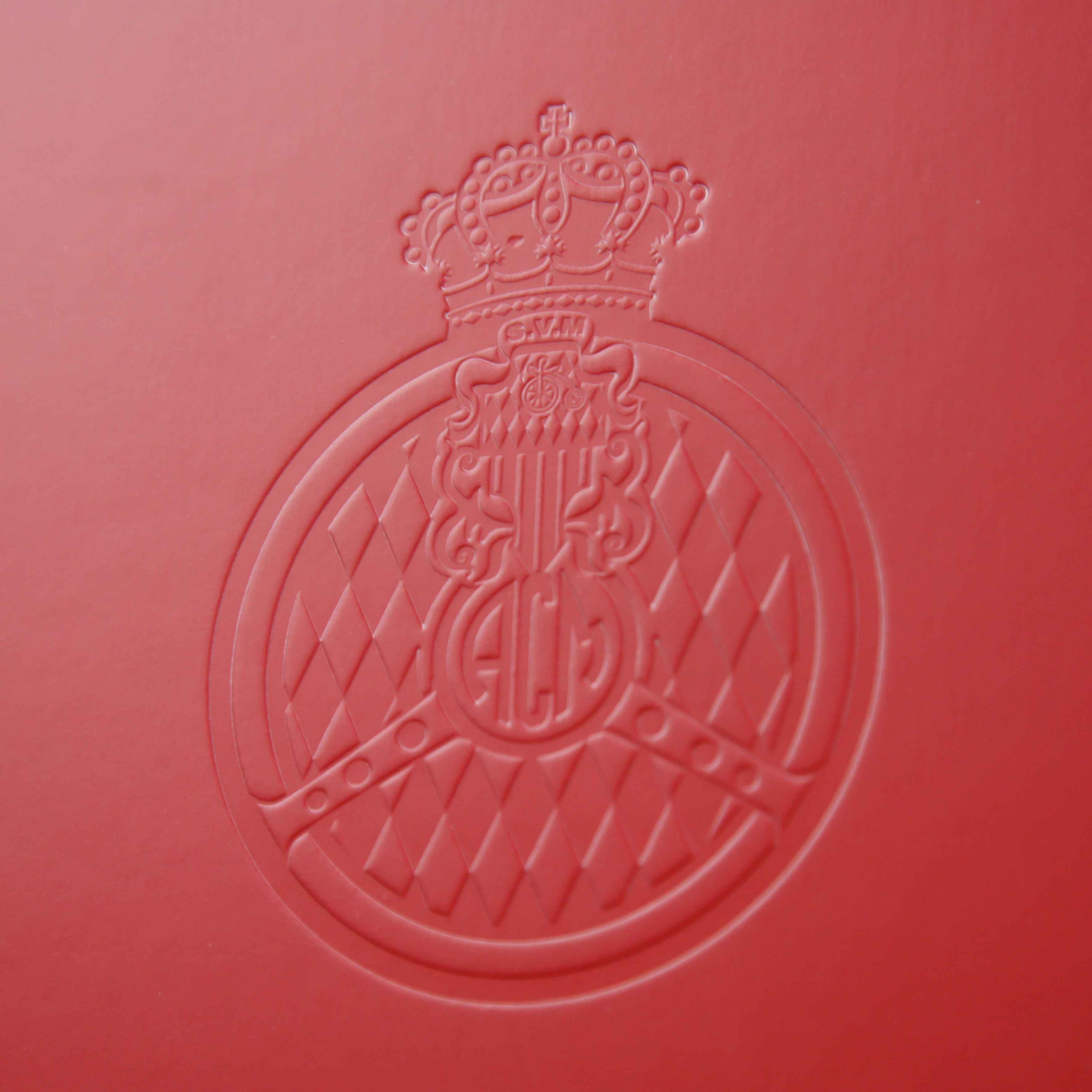 Embossing (printing in relief, without any ink)