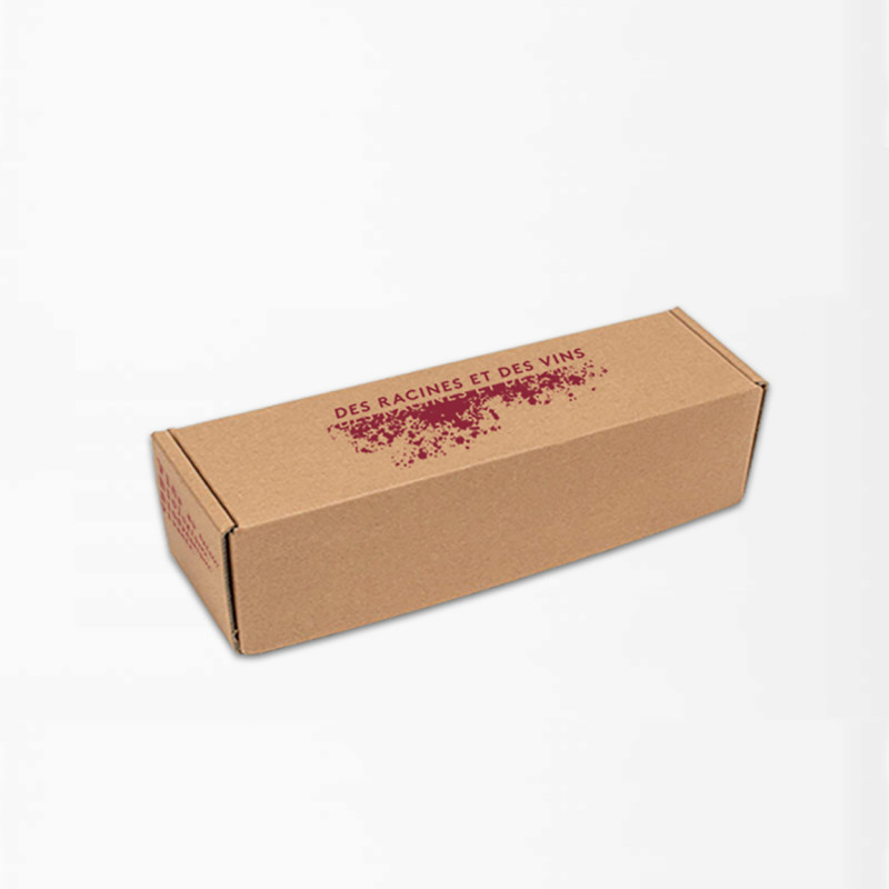Offset printed shipping box