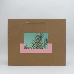 Custom kraft paper bag